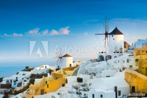 De sfeer van Santorini in huis